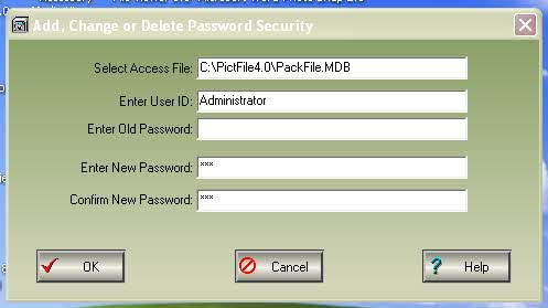 Add, Change, Delete MS Access File (MDB) Passwords